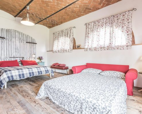 Fienile da primo - Bedroom with extra double bed
